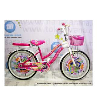United Joyfull Kid City Bike 20 Inci