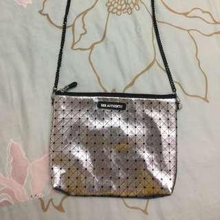 全新 泰國BKK Original銀色鏈條小包