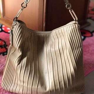 COACH Shoulder Bag Madison Beige