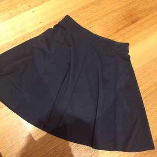 Bershka Black Skirt