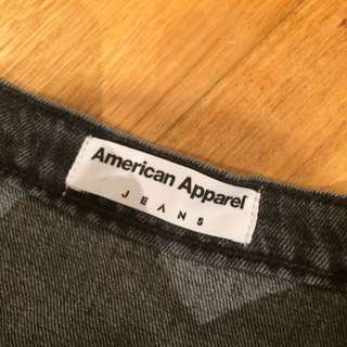 American Apparel A Line Skirt