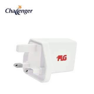 PLG 2 Port AC Adaptor - White (8888880123109)