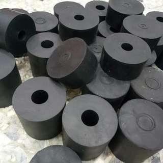 橡膠防震墊 圓型防震墊 避震墊 減震塊 圓墊