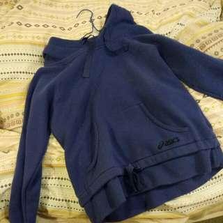 Asics Blue Hoodie Size 12