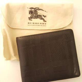 Mens Burberry Wallet