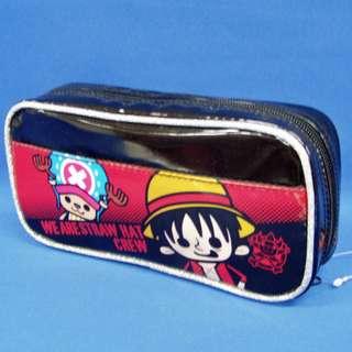 <日本直送, 現貨> ONE PIECES 海賊王 筆袋 (雙面都有印刷架😉)