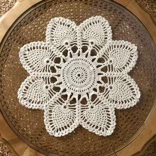 Handmade Crochet Pineapple Doiley