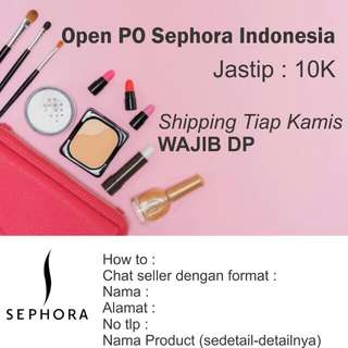 Open PO Sephora Indonesia