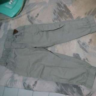 Jogger pant girl size 3-4 th