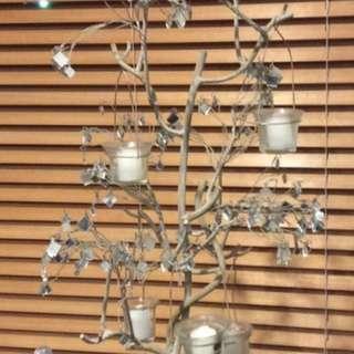 Beautiful Tree With Tealights