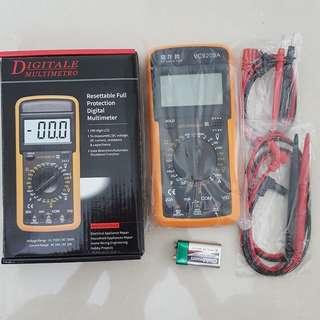 Digital Multimeter + Extra Fine & Sharp needle pen cable ( Brand New )