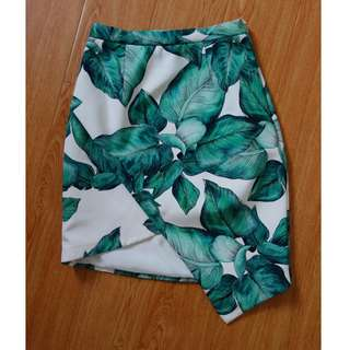 Cameo palm skirt