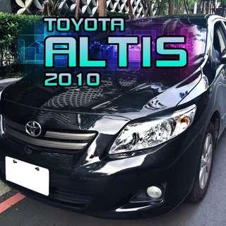 TOYOTA ALTIS 2010 1.8L TOYOTA ALTIS 2010 1.8L