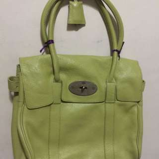 Mulberry Pebbled Leather Bayswater