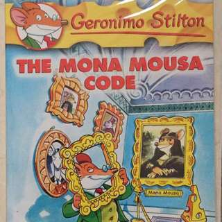 Geronimo Stilton Volume 15, The Mona Mousa Code - Scholastic