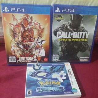 PS4 Games Nintendo 3DS Game