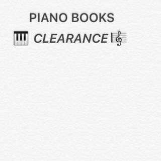 PIANO BOOKS CLEARANCE~~