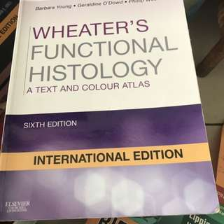 Wheater's Functional Histology 6th Edition