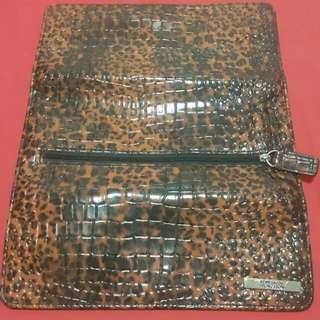 Kenneth Cole Reaction Wallet Animal Print
