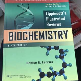 Lippincott's Illustrated Reviews: Biochemistry (medical book)
