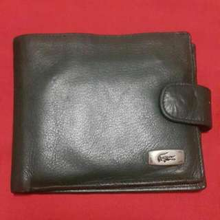 Authentic Lacoste Leather Wallet