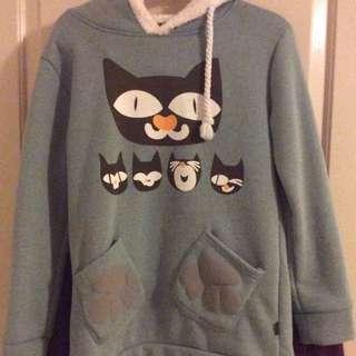 Warm Cat hoodie