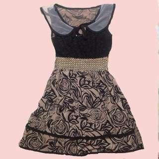 Laced Dress (Peter Pan Collar)