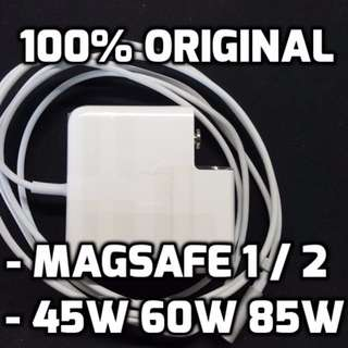 Original Macbook Replacement Chargers Magsafe 1 Magsafe 2 45w 60w 85w For Macbook Air Pro