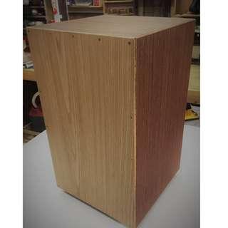 Custom Cajon, Oak Tapa, Wenge Body.