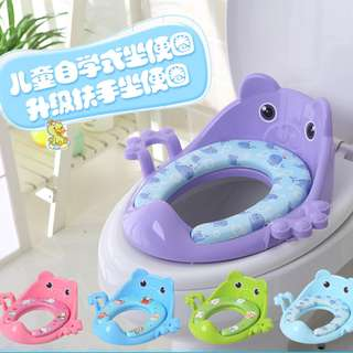 Ready Stock* Children Kids Toddle Toilet Seat Training Soft Cushion