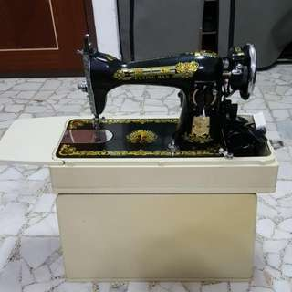 Flying Man Sewing Machine
