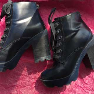 Aldo Winter Heeled Boots