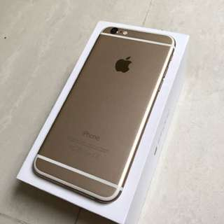 WTT/WTS iPhone 6 Gold 64GB