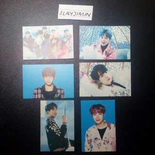 [WTS // CTS ] BTS THE WINGS TOUR PHOTOVARD VER. 1 AND VER. 2