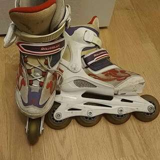 Girl's Rollerblades size 2