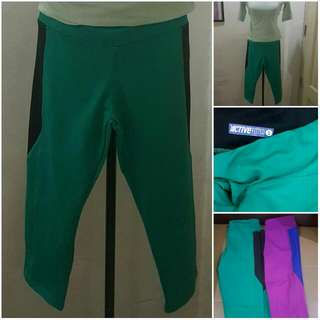 Auth Active Fitted Workout Pants