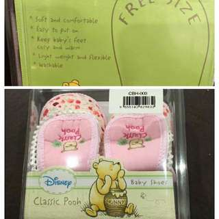 Disney Classic Pooh Baby Shoes