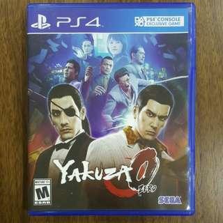 PS4 Yakuza 0 Zero
