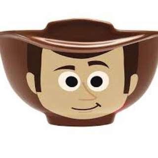 (可買可換)7-11 Pixar toys story 胡迪 woody 反斗奇兵 陶瓷碗 7-eleven