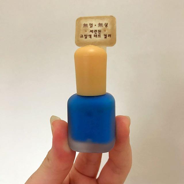 👉免運👈韓國🇰🇷霧面指甲油(一次賣2罐)