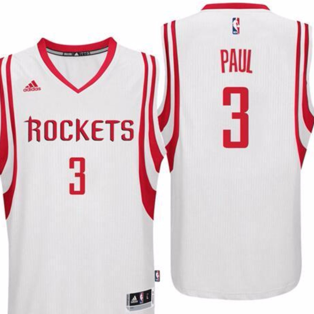 best website 5ff62 d017d 3 Chris Paul Rockets jersey red,black,white, Sports, Sports ...