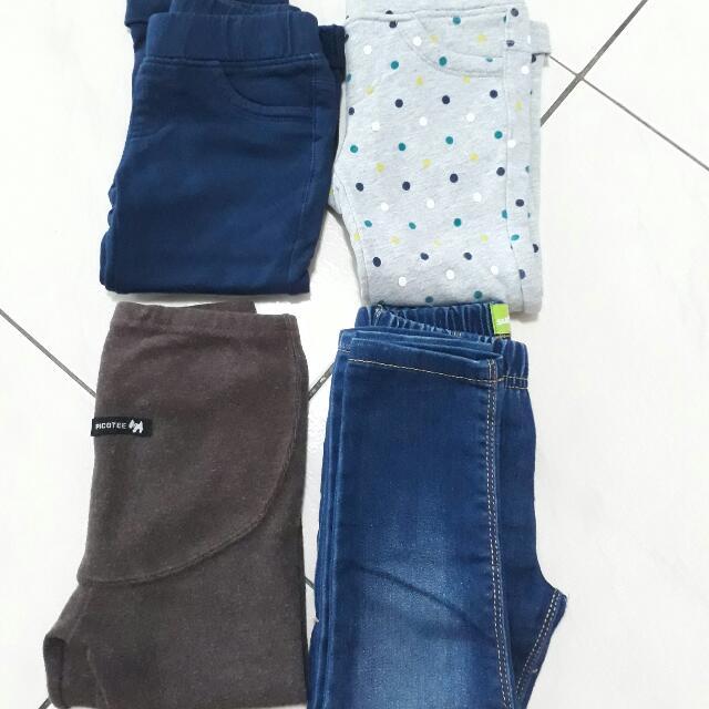 Crazy8等美國綜合品牌 女童合身長褲