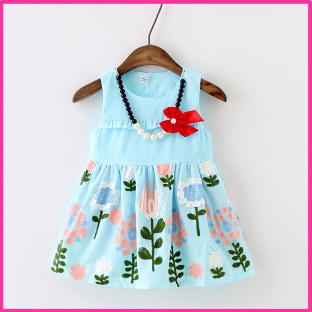 7ad9e719e 🌸  In Stock  Girls dress summer sundress baby 0-1-2-3 year-old baby ...