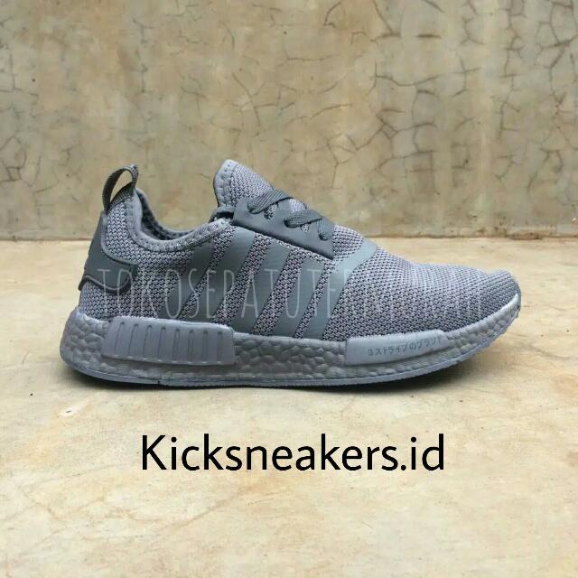 Adidas NMD R1 Full Grey