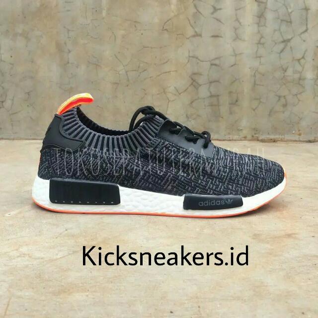 Adidas NMD R1 Grey Orange