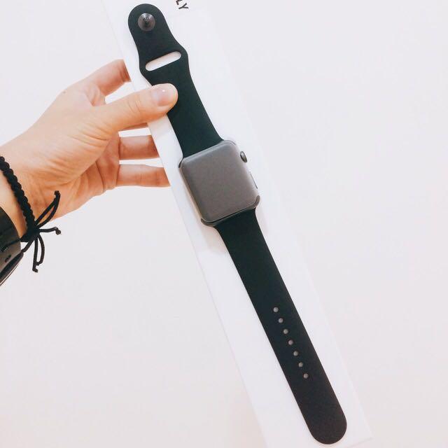 Apple Watch 42mm 第一代 天空灰鋁合金