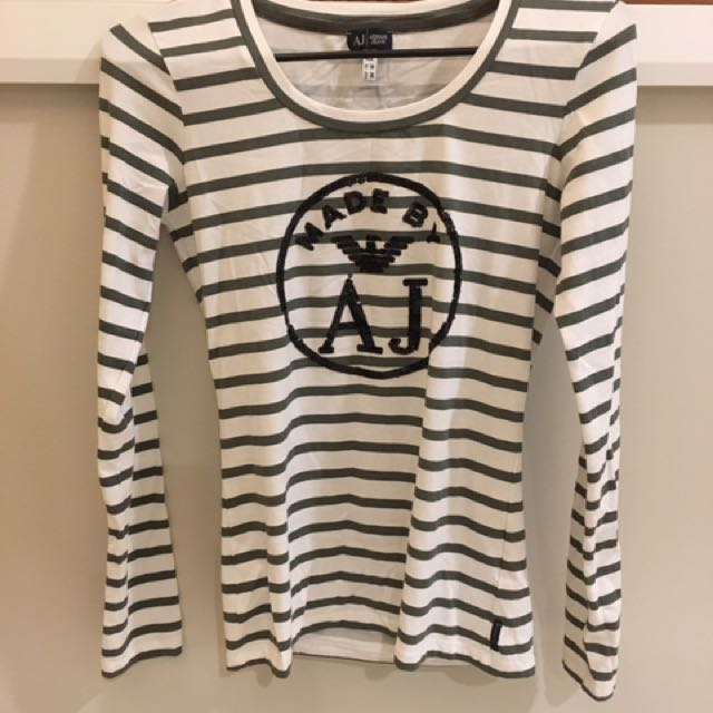 Armani Jeans Stripe Top