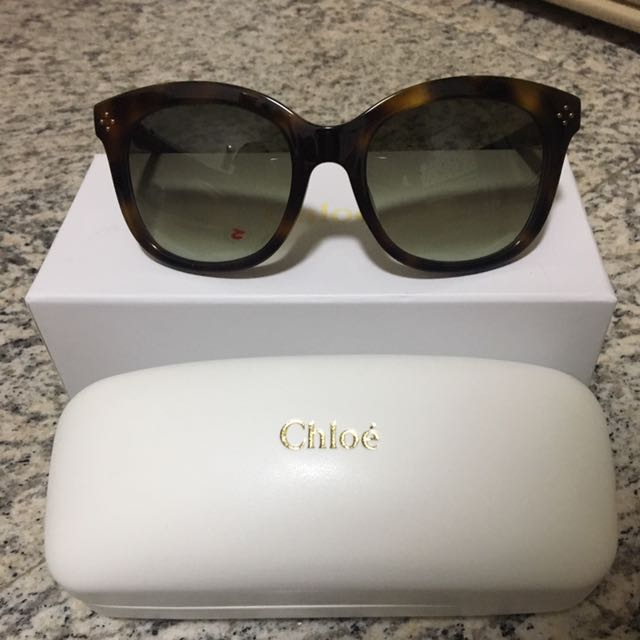 03d1428288589 Authentic Chloe Sunglasses