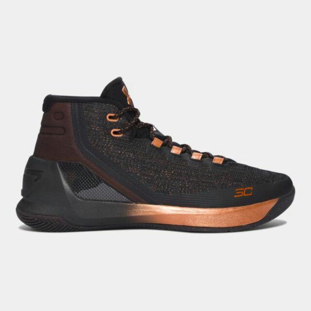 Authentic Timed Sale (USA) Under Armour Curry 3 (Limited Edition) Basketball  Shoes PO 7dec63ae699
