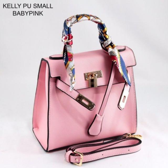 Baby Pink Mini Handbag